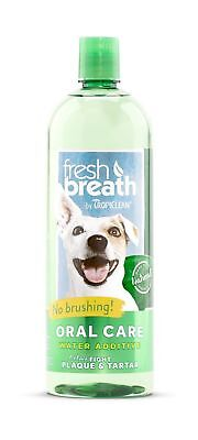 COSMOS Tropiclean Fresh Breath Plaque Remover Pet Water Additive 33.8-Ounce