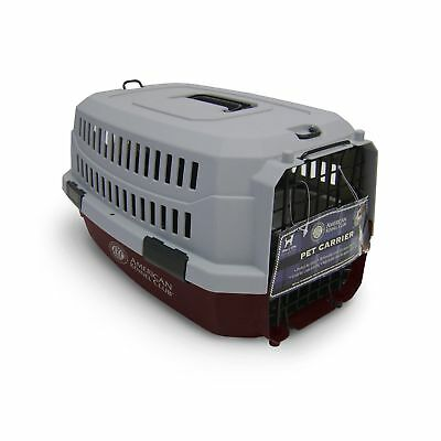 American Kennel Club Pet Carrier Small Size Red Color