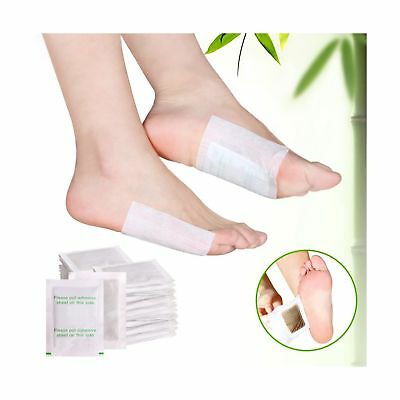 Bestrice 100pcs Detox Foot Pads Patch Detoxify Toxins With 100pcs Adhesives K...