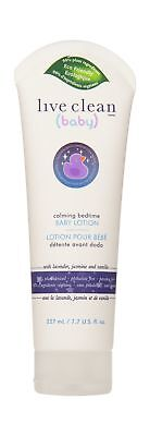 Live Clean Baby Calming Bedtime Lotion 227 Milliliter