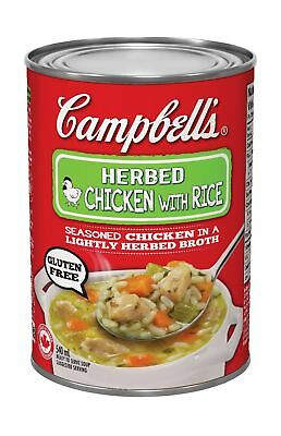 Campbell's Herb Chicken With Rice Soup 540ml