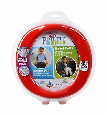 Potette Plus Travel Potty Red