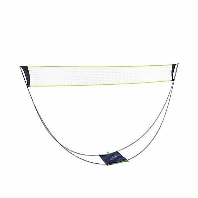 Portable Removable Volleyball Badminton Net Set With Stand Carrying Bag for I...