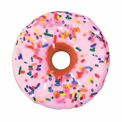 Iscream Sweet Treats Donut Pillow Pink Front/Chocolate Back
