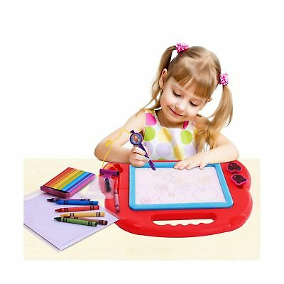 Magnetic Drawing Board Sketch Pad Doodle Writing Painting Toy Craft Art For K...