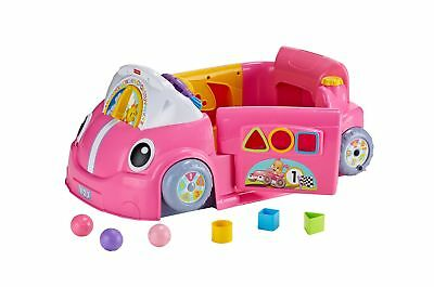 Fisher-Price Smart Stages Crawl Around Car Pink Smart Stages Car-Pink