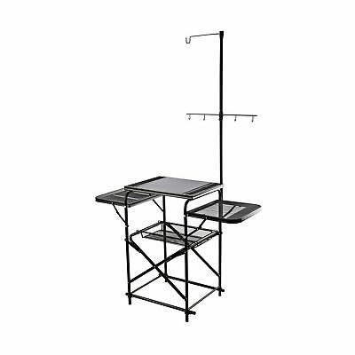 Magicook Folding Table Portable Camp Kitchen Fold-up Outdoor Kitchen with Hoo...