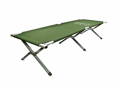VIVO Cot Green Fold up Bed Folding Protable for Camping Military Style w/Bag ...