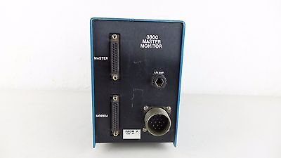 Transyt Corp Traffic Light Control Signal Master Monitor 3800