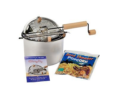 Wabash Valley Farms Stainless Steel Whirley-PopTM Real Theater All-Inclusive ...