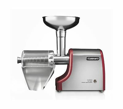 Cuisinart MP-150C Electric Fruit and Vegetable Press Silver