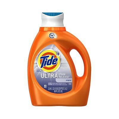 Tide Ultra Stain Release HE Turbo Clean Liquid Laundry Detergent 2.04 Litre 3...