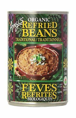 Amy'S Kitchen Organic Traditional Refried Beans 398 ml