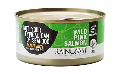 Raincoast Trading Wild Pink Salmon - Traditional (Case of 12 cans)