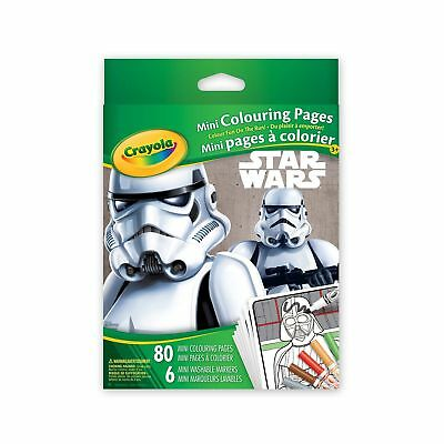 Crayola Star Wars Mini Colouring Pages
