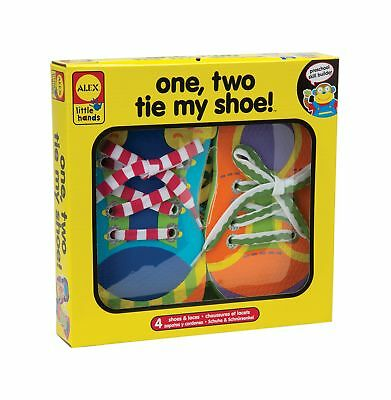 ALEX Toys - Early Learning 1 2 Tie My Shoe - Little Hands 570WN