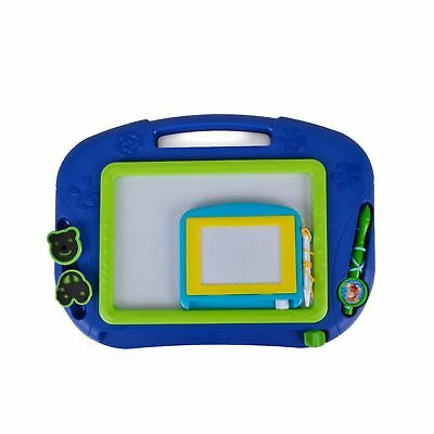 2 Pieces Magnetic Drawing Board - Erasable Doodle Sketch for Toddler by Hanmun