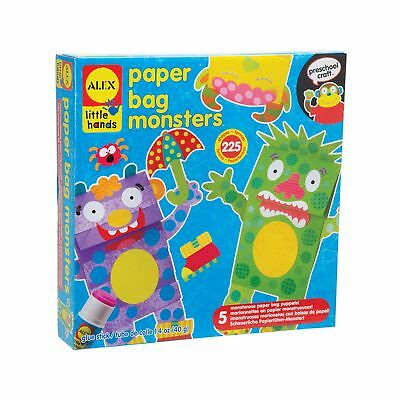 ALEX Toys - Early Learning Paper Bag Monsters - Little Hands 1512