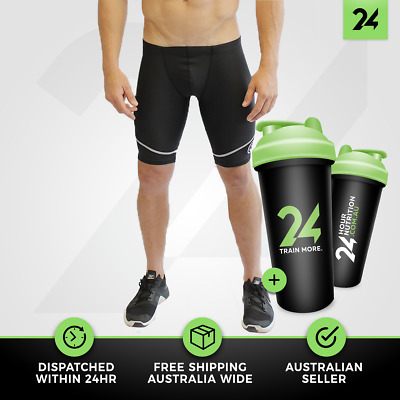 Mens Athlete Full Quad Shorts Body Science | Athletic Clothing Muscle Recovery!