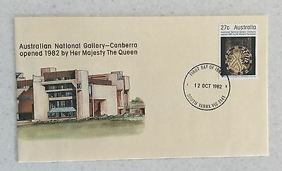 1982 National Gallery FDC