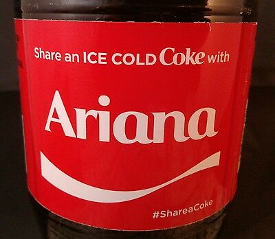 Share A Coke With Ariana Coca Cola Bottle 2017