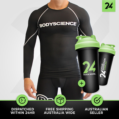 Mens Athlete Long sleeve Body Science | Athletic Recovery Performance Clothing!