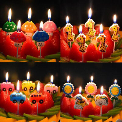 Happy Birthday Party Gift Candle Birthday Number Cartoon Happy Birthday Candle