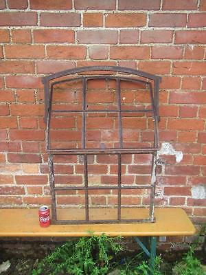 Vintage A Metal Framed  Window French Industrial Chic  Reclaim With  Free Post
