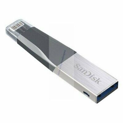 Sandisk Ixpand Mini Usb 128 Gb Usb3.0 & Lightning Usb Flash Drive New A