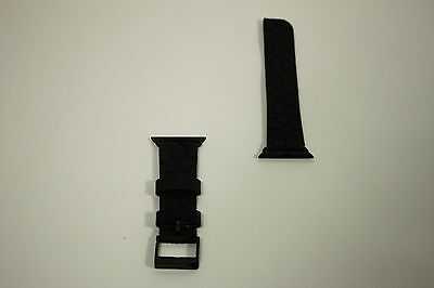 Case-Mate Replacement Band for Apple Watch - Black/Black - Preowned