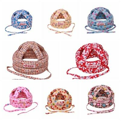Toddler Baby Adjustable Safety Helmet Headguard Children Hats Cap Harnessest