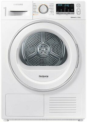 NEW Samsung DV80M5010IW 8kg Heat Pump Dryer