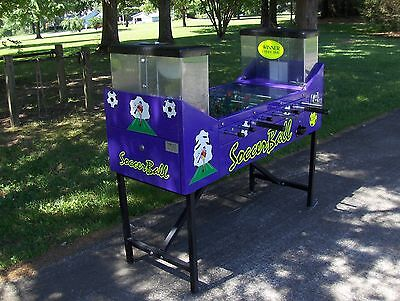 Foosball Soccer Two Player Arcade Game .25Cents From Pro-Design