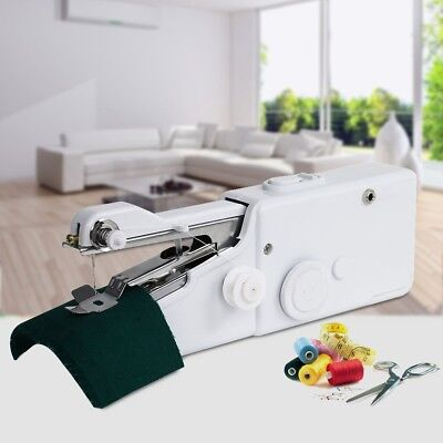 Mini Portable Handheld Sewing Machine Needlework Cordless Stitch for Home use