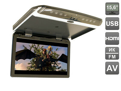 15.6 inch Flip down (roof mount) 1080P monitor with USB and HDMI,  AVS1550MPP