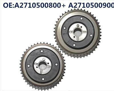 Camshaft Adjusters 2710500800 2710500900 For Mercedes C230 (W203) 2003-2005 Pair