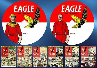 Eagle Comics v1-v6 + Annuals On Two Dvd Rom's