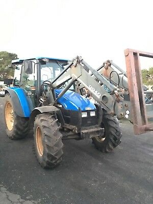 Tractor Front End Loader New Holland Tl 100