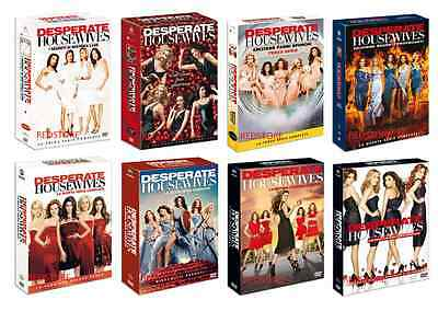 Desperate Housewives - Stagioni 1,2,3,4,5,6,7 e 8 Cofanetti Singoli (49 DVD)