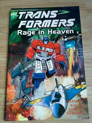 Transformers Rage In Heaven (2003) graphic novel G1 volume 16 TItan Books