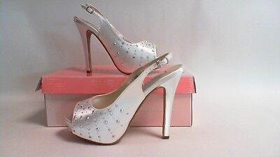NEW: Touch Ups Wedding/ Evening Shoes - White- Brooke- US 7M UK 5 #12R560