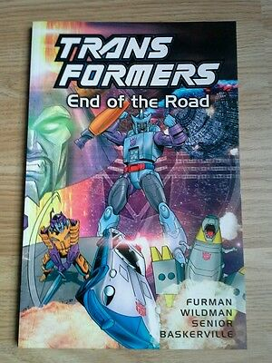 Transformers End of the Road (2001) graphic novel G1 volume 14 TItan Books