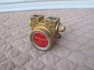 Procon 2507XL Brass Rotary Vane Pump Standex 130 psi