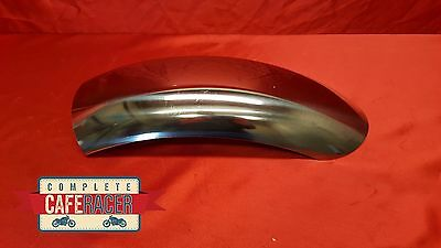 CRM8c STYLE CAFE RACER STAINLESS STEEL MUDGUARD