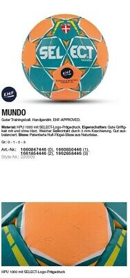Select Handball Mundo Gr. 0 1 2 3 Trainingsball Mini Jugend Damen Herren Schule