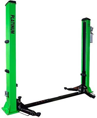 Platinum AWE 4.2 Ton Adjustable 2 Post lift - Adjustable width SINGLE PHASE
