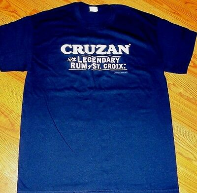 Cruzan The Legendary Rum Of St. Croix T-Shirt Sz L Large