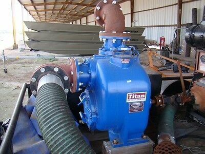 Titan Trash Pump Self-Priming Centrifugal Pump W/Rockford Power Take Off