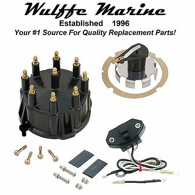 Ignition Sensor & Tune Up Kit for Mercruiser V-8 Thunderbolt HEI Distributor