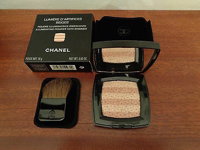 Chanel Palette Ombres Tissees Effects Eyes Iridescent - Beiges - New